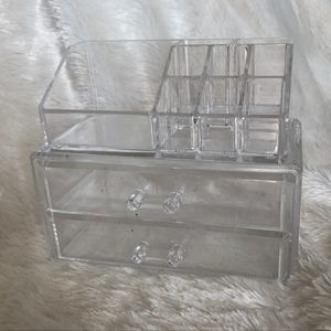 Acrylic Makeup Holder Container